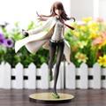 LabMem No. 004 Kurisu Steins puerta Makise Kurisu Action Figure Doll PVC ACGN Kit figura Garaje Brinquedos Anime 21 CM