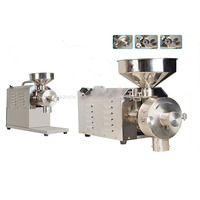 1PC 220V commercial flour mill medicine pulverizer cereal grain grinding machine steel bean wheat rice sesame grinder