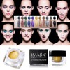 IMAGIC Profissional 12 Colors Gel Eye Shadow Cream Beauty Glitter Waterproof Long Lasting Shimmer Make Up