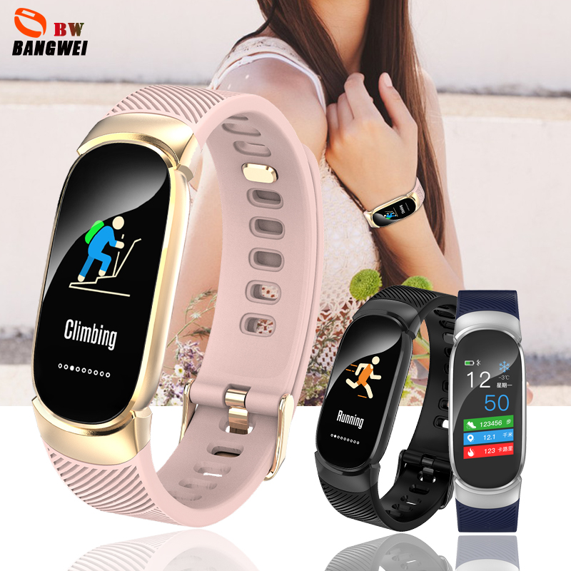 Relogio feminino BANGWEI Smart Watch Women Sports Watches Smartwatch Heart Rate Monitor Pedometer Fitness watch For Android iOSRelogio feminino BANGWEI Smart Watch Women Sports Watches Smartwatch Heart Rate Monitor Pedometer Fitness watch For Android iOS