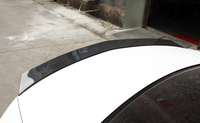 Car styling For Benz E Class W213 16 17 Veath Style Carbon Fiber Rear Spoiler Glossy Fibre Trunk Wing Auto Body Kit Accessories