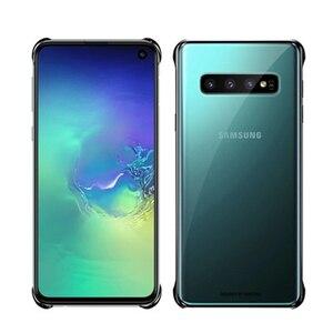 Image 4 - SAMSUNG orijinal telefon kapak için Samsung Galaxy S10 S10Plus S10 X S10E SM G9700 SM G9730 G9750 şeffaf sert kabuk telefon kılıfı