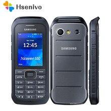 Samsung g530h remodelado-original desbloqueado samsung b550h 2.4 polegadas gps gsm barato xcover 550 telefone móvel remodelado