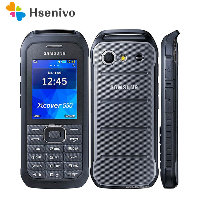 B550H 100% Original Unlocked Samsung B550H 2.4 Inches GPS GSM Cheap Xcover 550 Mobile Phone refurbished