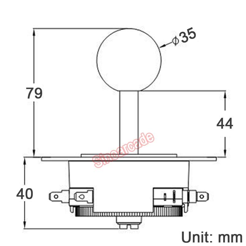 pacman joystick diagram