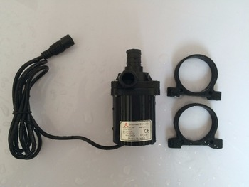 2pcs 24V DC Water Pump, Submersible, Magnetic Driven, more powerful 840L/H 6M, for Fish tank Fountain Circulating Cooling SYS
