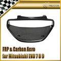 Car-styling For Mitsubishi Evolution EVO 7 8 9 Carbon Fiber Cluster Surround RHD