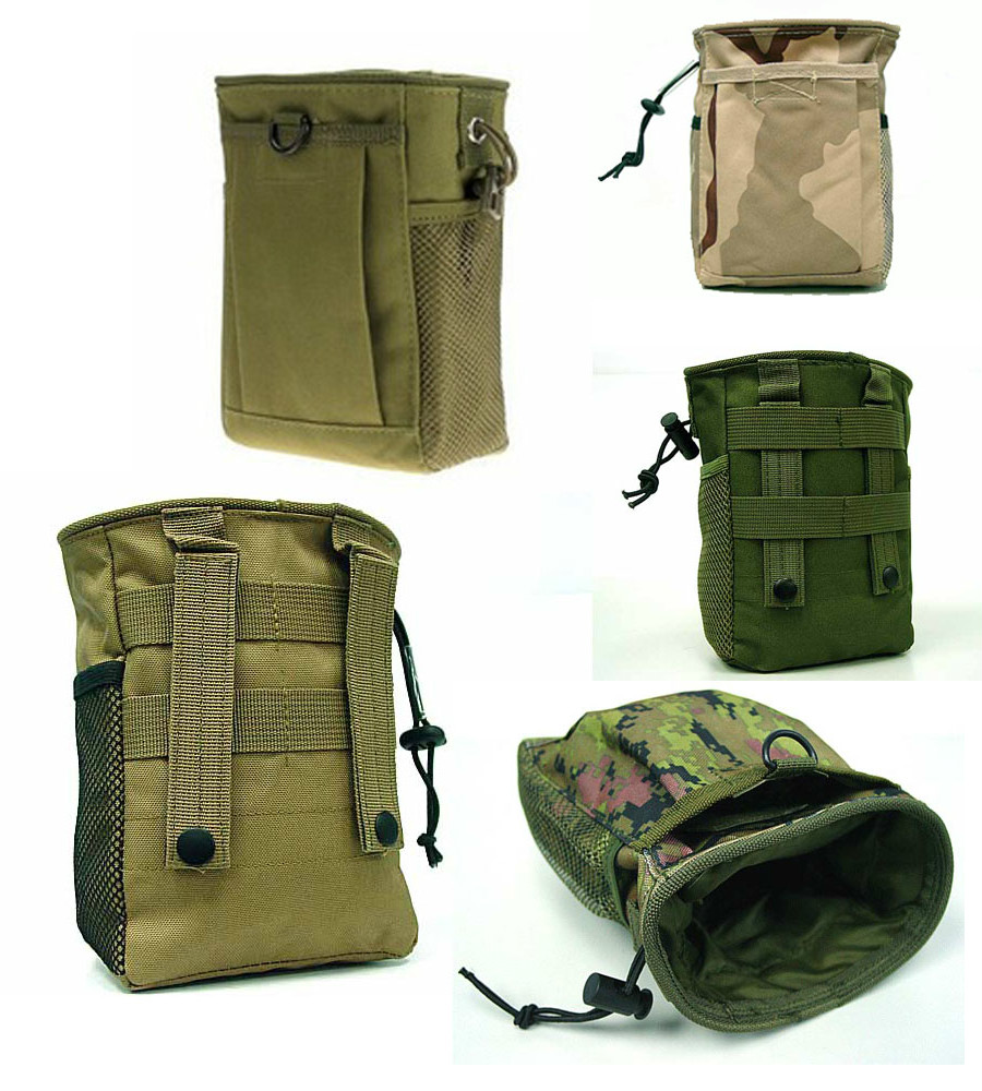 MOLLE Tactical Waist Bag Pouch Utility Pouch Magazine Pouch Mag Outdoor Bags Accessory Medic Bag Top Quality Pack