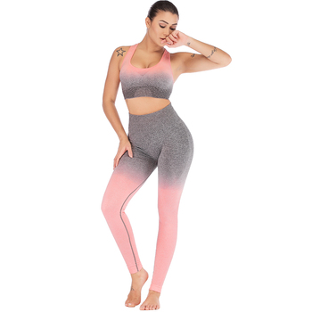 Pink High Waist Leggings For Workout