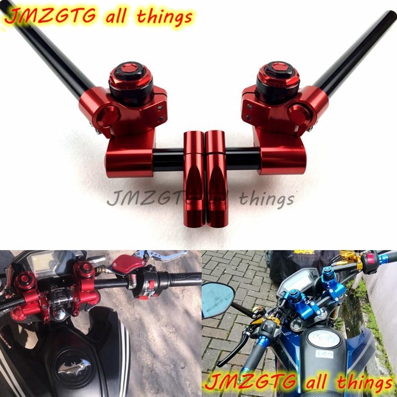 Motorrad Adjustable angle Handle Bars For HONDA GROM MSX125 MSX125SF PCX Kawasaki Z125 цена