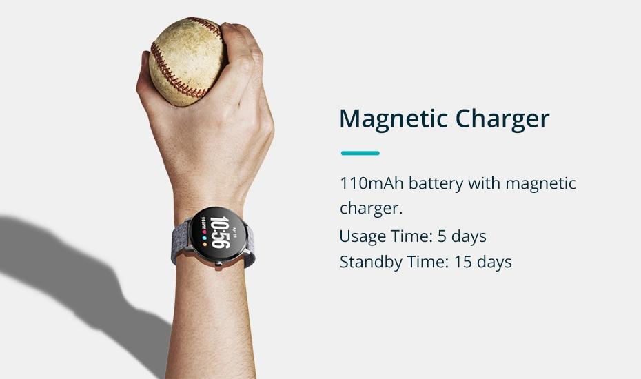 COLMI V11 Smart watch IP67 waterproof Tempered glass Activity Fitness tracker Heart rate monitor BRIM Men women smartwatch 14
