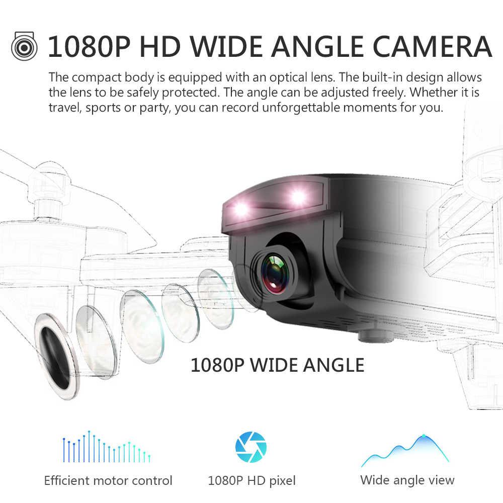 كاميرا طائرات بدون طيار مع كاميرا HD واسعة الزاوية البصرية تدفق المواقع طوي الذراع Rc هليكوبتر WIFI FPV Rc Quadcopter مع كاميرا
