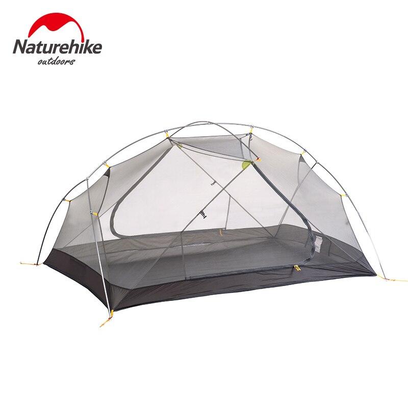 Naturehike Продажа с фабрики Mongar 2 палатка двухслойная 2 человек Водонепроницаемый Сверхлегкий купол палатка DHL Бесплатная доставка - 3