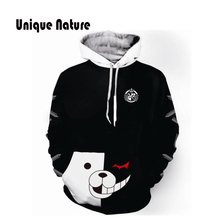 Unique Nature Cute Anime Bear Hoodies 3D Printing Jackets Autumn Winter Hooded Sweatshirts Long Sleeve Pullover with Hat Plus