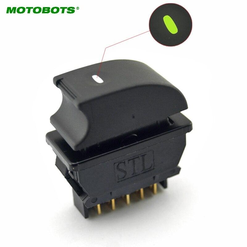 MOTOBOTS 50 STÜCKE Neue Universal 5 pins Auto Fensterheber Schalter ...