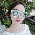 Vintage ronda femeninas gafas de sol para mujer diseñador de la marca mujeres de gafas de sol de espejo femenino gafas oculos gafas de sol mormaii originales