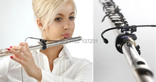 Superior adequado para qualquer estilo de flauta jts CX 500F omni condensador microfone instrumento microfone com fio mini gooseneck mic