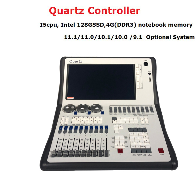 2019 Newest Titan 11.1 System Quartz Console DMX512 Stage Lighting Controller For Stage Disco Party  Lighting DJ Equipments
