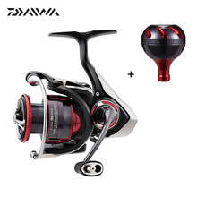 2018 Daiwa FUEGO LT Spinning Reel With Handle Knob 5.2:1/5.3:1/6.2:1/5.7:1 Gear Ratio 6+1 Ball Bearings Saltwater Fishing Reel