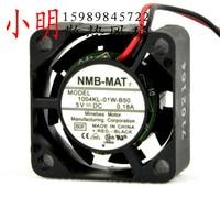 Entrega gratis. 2.5 cm portátil pequeño ventilador 5 V 0.18 NMB 1004 KL-01 W-B50 2.5 cm ventilador