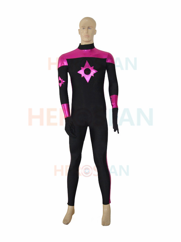 Star Sapphire Corps Custom Superhero Costume Cosplay Halloween party Suit free shipping