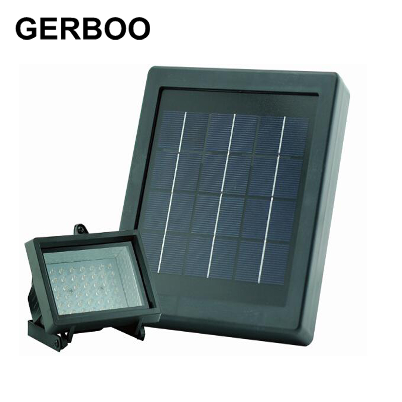 48 LED kültéri útjelző fényszórók Solar LED utcai lámpa kerti fehér / meleg fehér / zöld