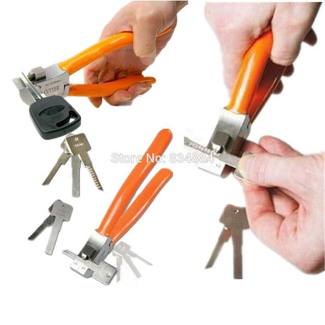 US $25 28 21% OFF|Original Lishi tools Key Cutter Locksmith Car Key Cutter  tool Auto Key Cutting Machine Locksmith Tool Cut Flat Keys Directly-in