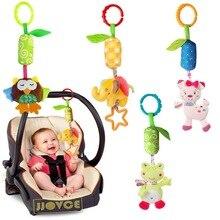 2018 Rasseln Kinder Spielzeug Chidren Baby Spielzeug Plüschtier Elefant Plüschtiere Baby Beißring Hängenden Kinderwagen Sound Spielzeug