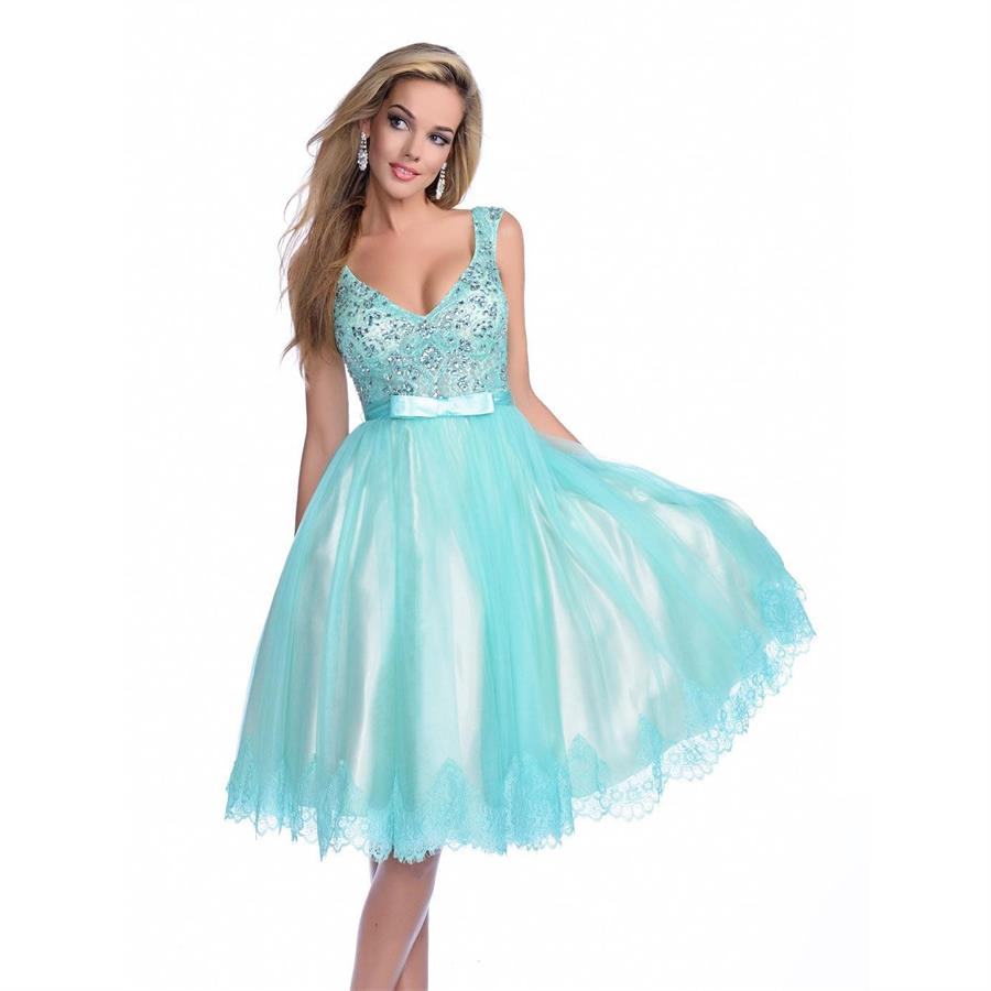 Wedding Aqua Prom Dresses online buy wholesale aqua prom dress from china knee length sexy backless beaded dresses 2016 with bow knot v neckline sequins