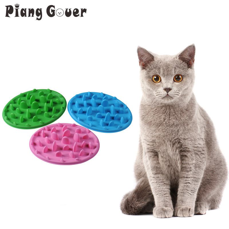 Cat Interactive Slow Feeder Catch Non Slip Anti Gulping