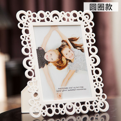 6inch acrylic abs photo picture frame wedding decoration DIY Hanging DIY Wall Picture Home Decoration