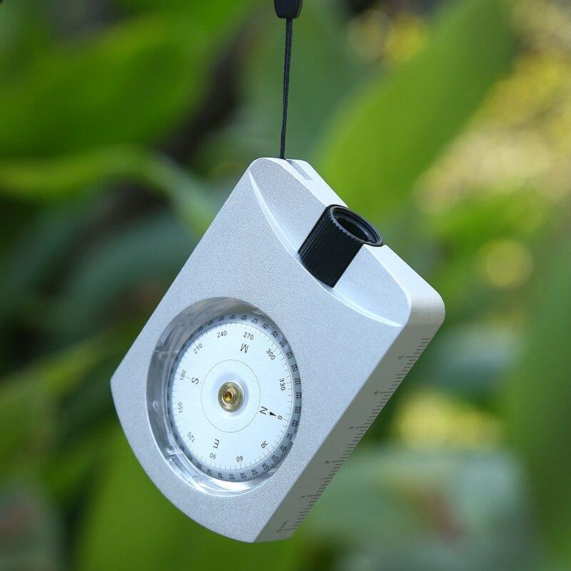 Eyeskey Mini Portable Pliant Objectif Distance Multifonction Haute Précision Étanche Géologie Boussole pour Randonnée En Plein Air Outils Carte
