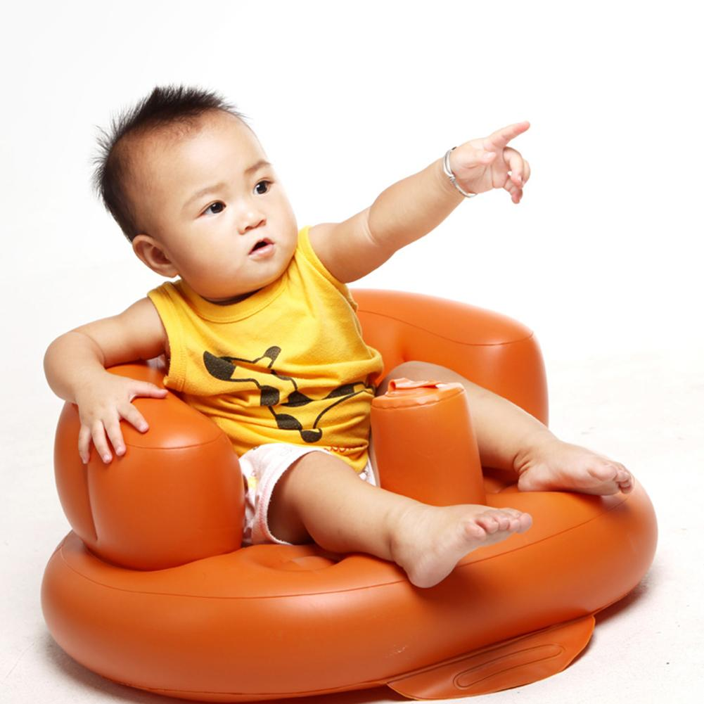 Portable Newest Hot Sale Float  Inflatable Baby Bench Sofa Outdoor Play Seat Sofa Safety Stool For baby Infant Toddler