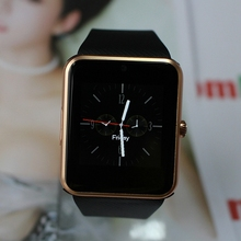 Bluetooth 3,0 Smart Uhr Smartwatch Armbanduhr Tragbare Geräte Für Android-Handy Mit Kamera Unterstützung Sim-karte PK DZ09 GT08