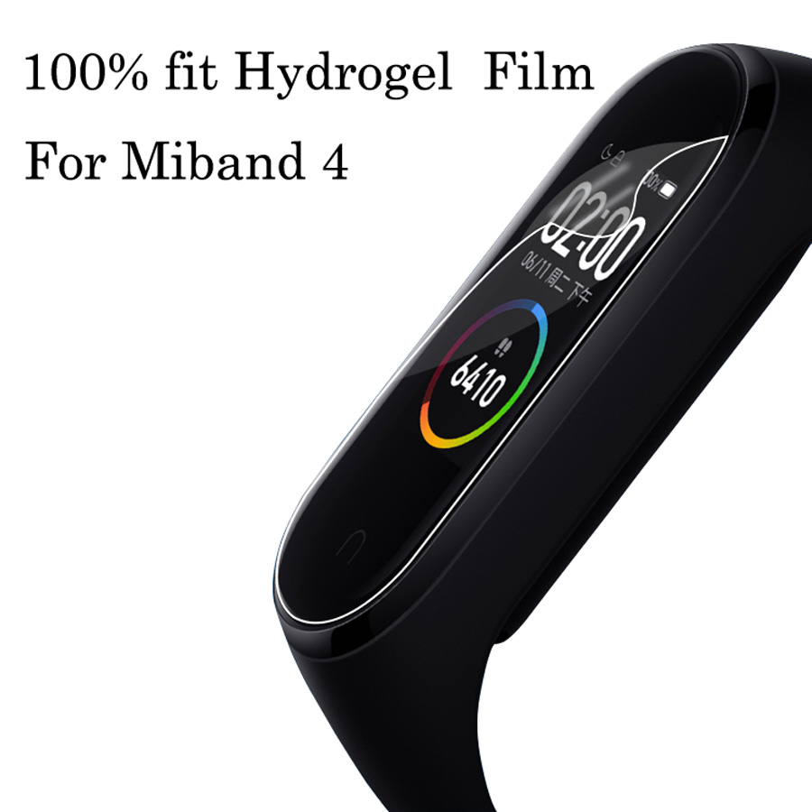 10Pcs Mi Band 4 Screen Protector Film For Xiaomi Miband 4 Smart Wristband MiBand 4 Bracelet Screen Protector Not Tempered Glass