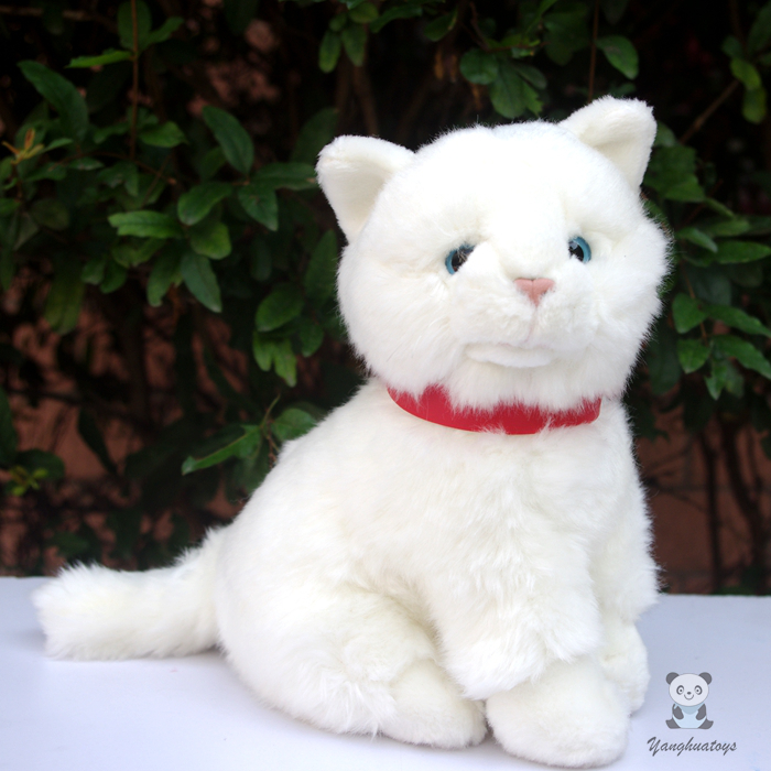 Children S Toy Christmas Gift Doll Plush White Cat Toys Cute Cats