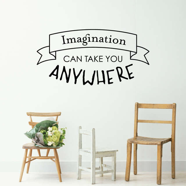 Online Shop Creative Quotes Wall Sticker For Kids Boy Room