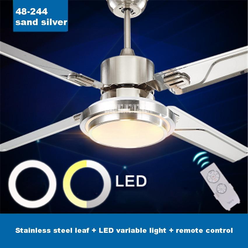 Nova chegada europeu antigo ventilador de luz simples quarto moderno ventilador led lustre ventilador restaurante luz 48-fxb244 70 w 220 v/110 v