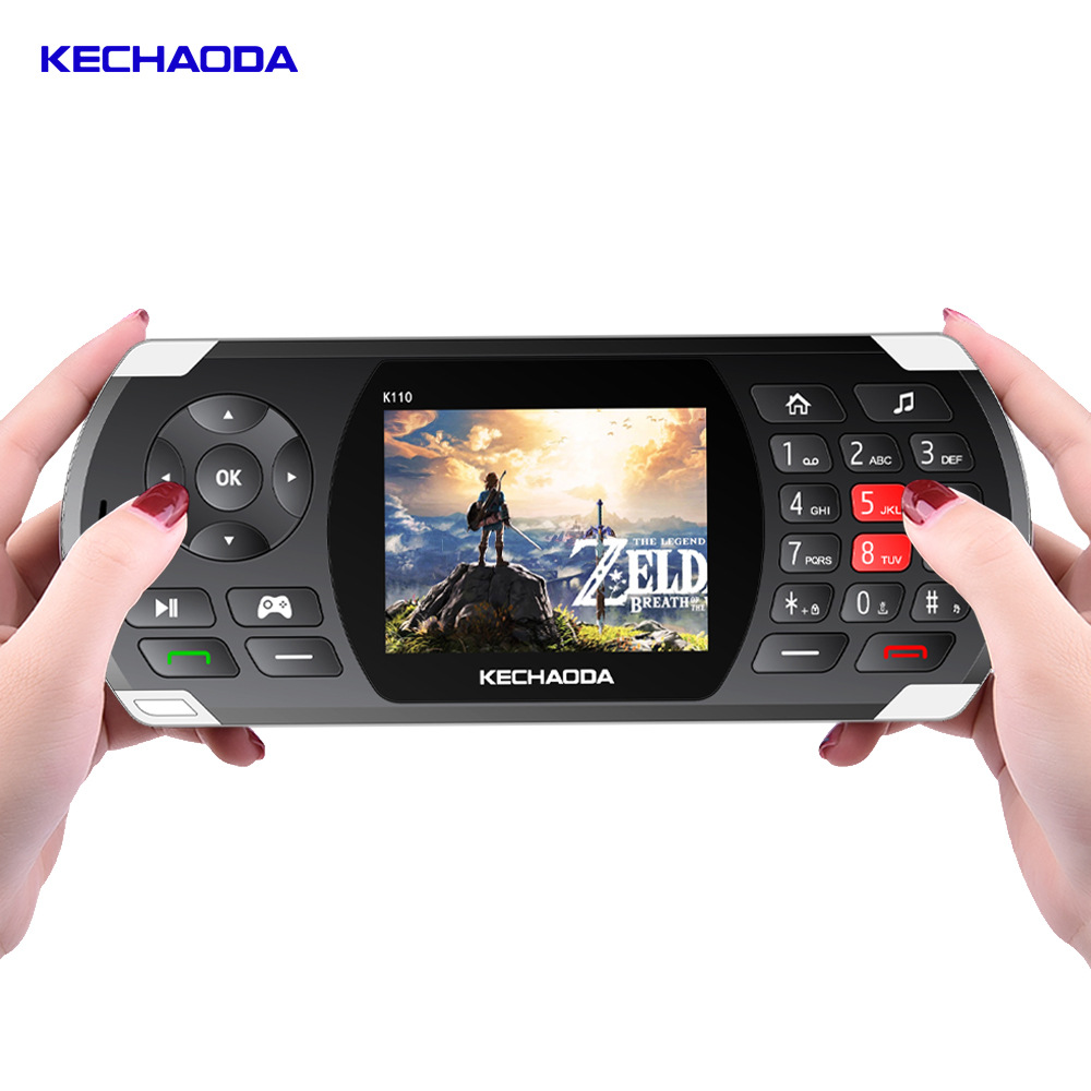 KECHAODA Long Standby Power Bank Game and Phone 2 In 1 Mobile Phone K110 2 8