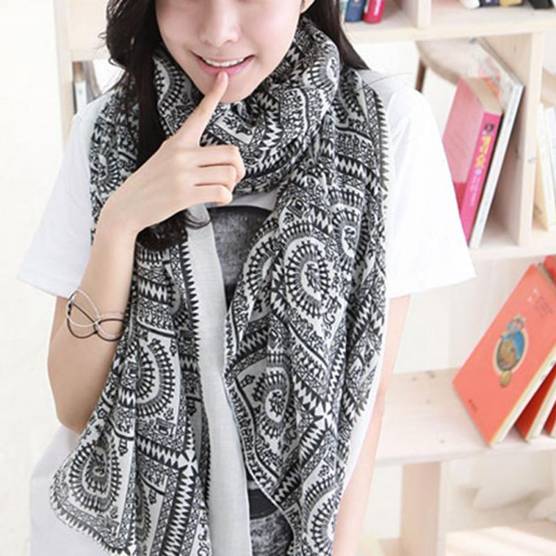 New Fashion Women Long   Scarf     Wrapped   Elegant Silk   Scarf   Sun-proof Ladies Fall Winter Shawl Clothes Accessories 170-180cm ~