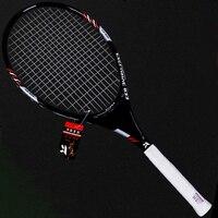 Proffisional Técnica Tipo de Liga de Alumínio de Carbono Raquetes de tênis Raquete De Tênis Raquete Raqueta Tenis Racchetta Tennisracket