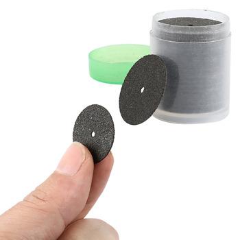 Seksowna czarna 36 dysków Dremel narzędzie obrotowe odcięte koła tarcza 24mm wzmocniona 1 rurką do narzędzi obrotowych Dremel tanie i dobre opinie Grinding Wheels 36 Discs