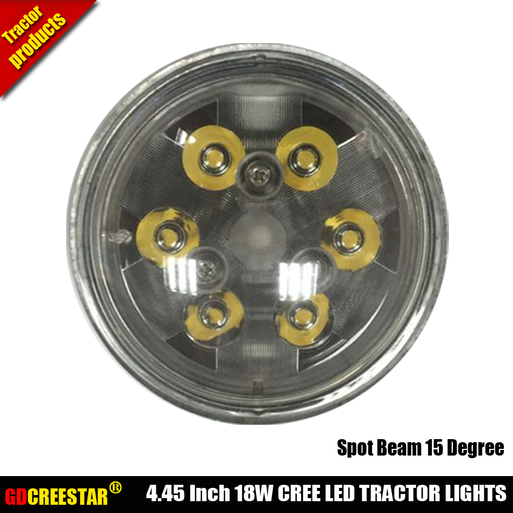 Par36 Round Led Flood Bulb For Truck Tractor Work Light Replacement Wiring Lights On A Massey Spot Trap Beam 12v 24v Replace H4411 Wl2116 Bulbs