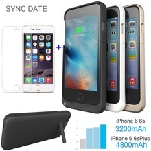USA RU Ship External Power bank pack backup battery Charger case for iphon 5 5S SE