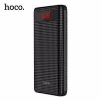 HOCO 20000mAh Dual USB Power Bank 18650 Portable External Battery Universal Mobile Phone Charger PowerBank 20000mAh