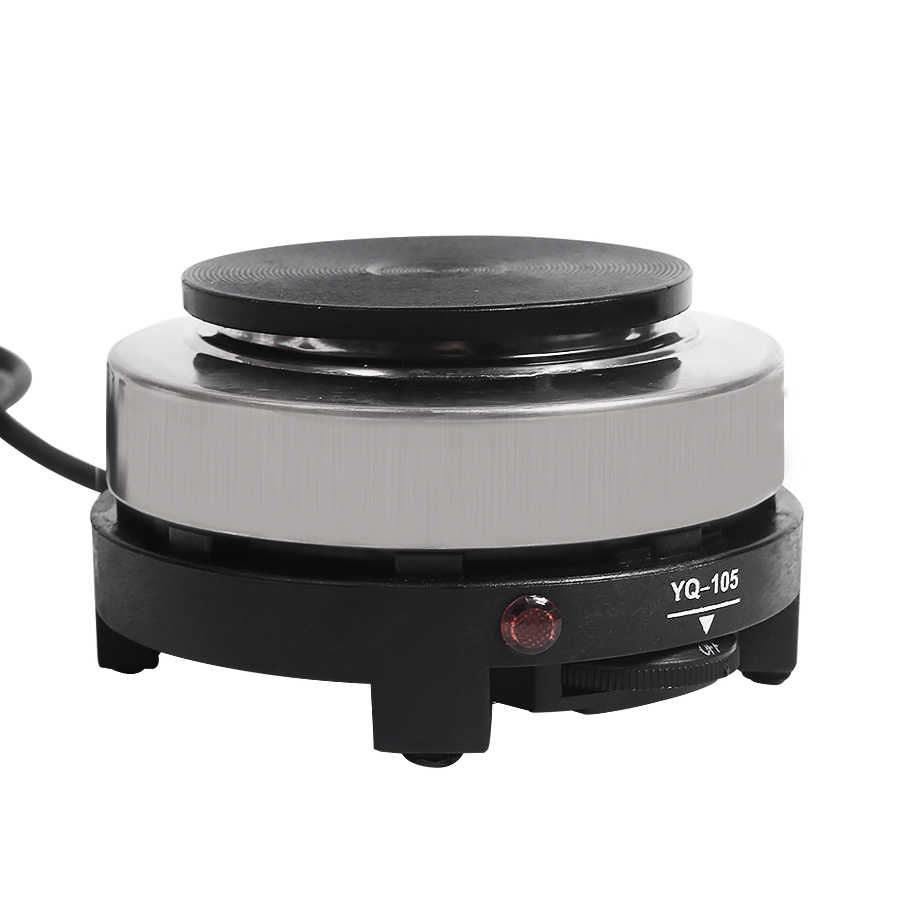 MINI estufa eléctrica de 500w cocina multifuncional pequeño calentador de café Mocha platos calientes máquina de leche de café UE EE. UU.