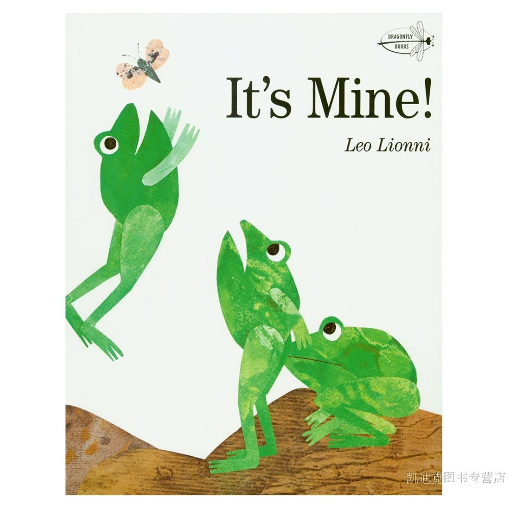 Free Shipping It's Mine! This Is Me! Children's Picture Books Picture Books English Caldecott Original Genuine Li Ou