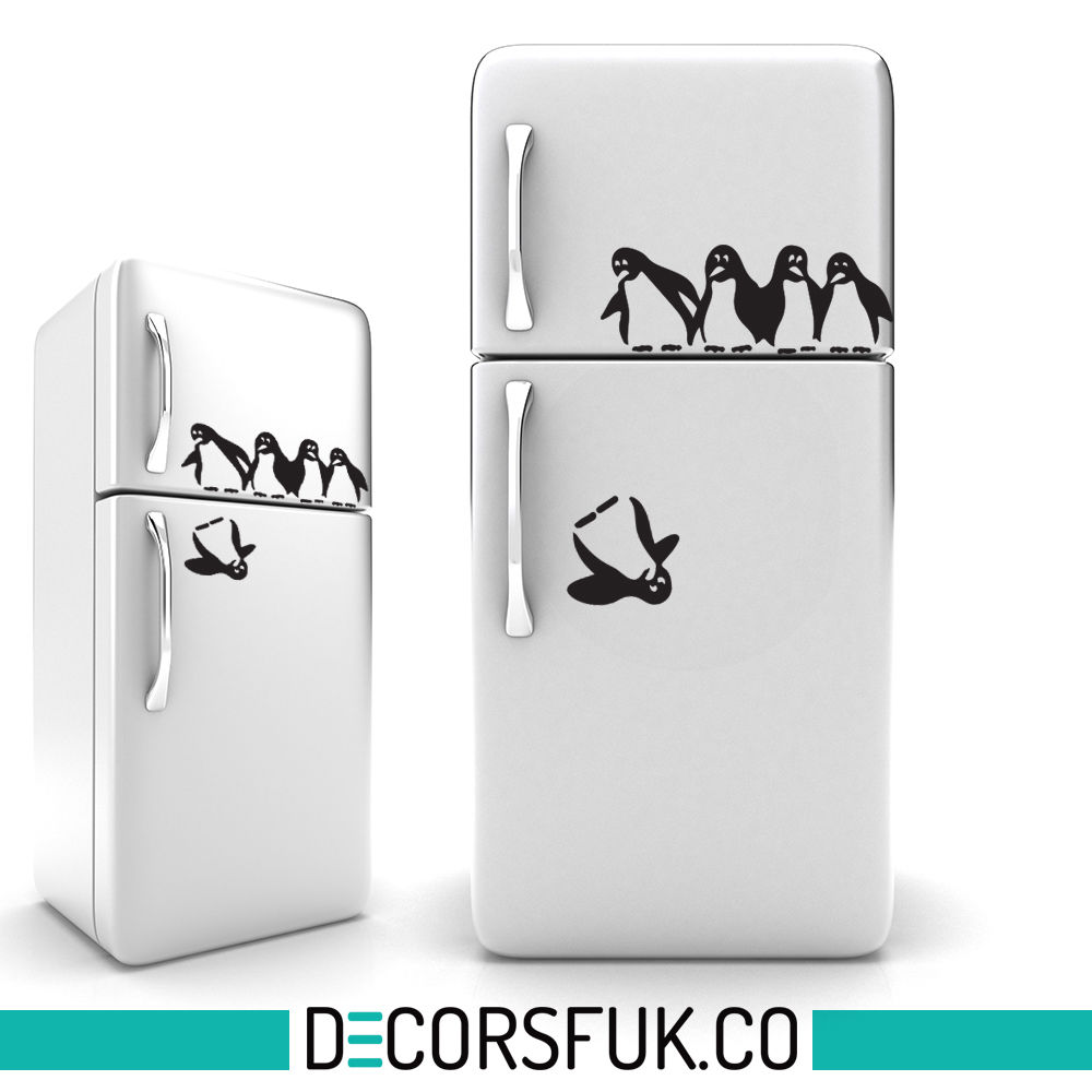 Fridge Stickers Popular Penguin Refrigerator Buy Cheap Penguin Refrigerator Lots