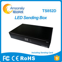 Full Color Outdoor Led Video Screen Led Outdoor Display Linsn Ts852d Led Sending Box With Ts802d