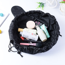 Women Drawstring Cosmetic Fashion Travel Makeup Bag Organizer Make Up Case Storage Pouch Toiletry Beauty Kit Box Wash